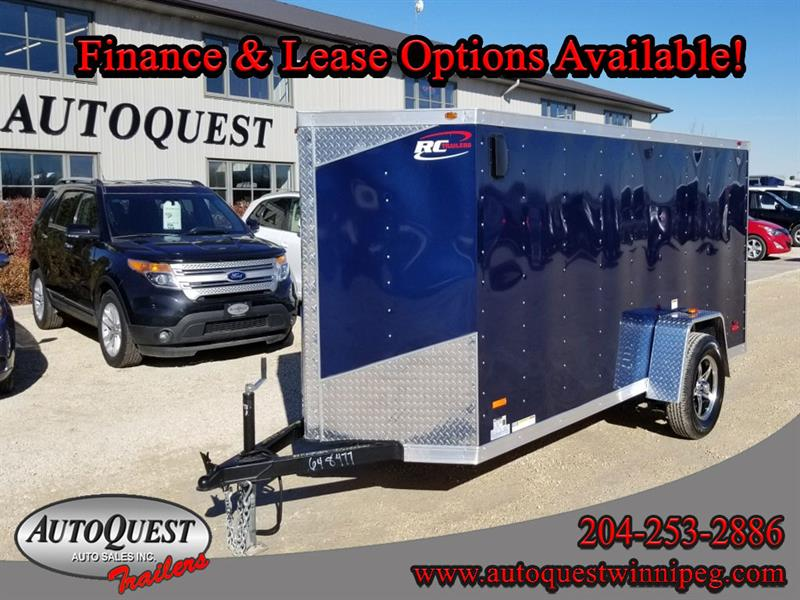 2019 RC Trailers 5' x 12' x 60