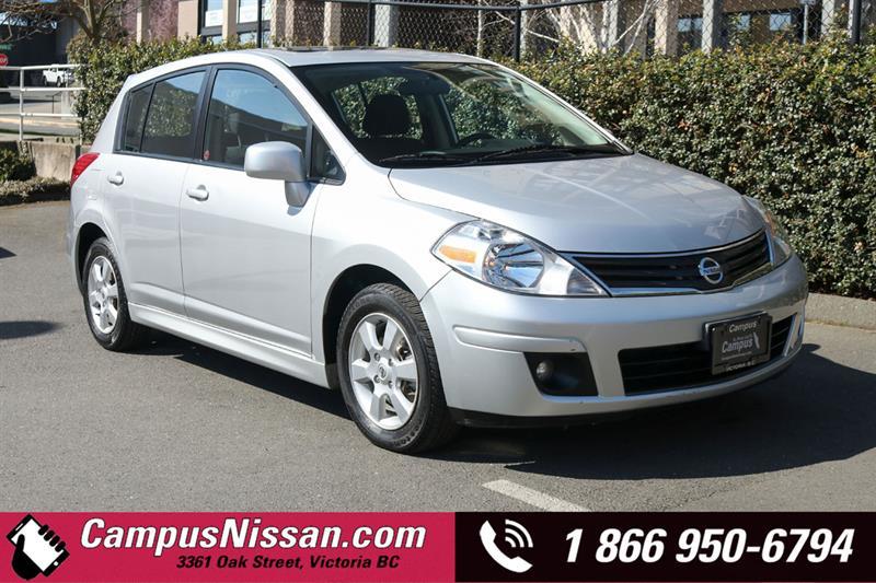 2011 Nissan Versa | SL | FWD w/ Sunroof #9-B180A