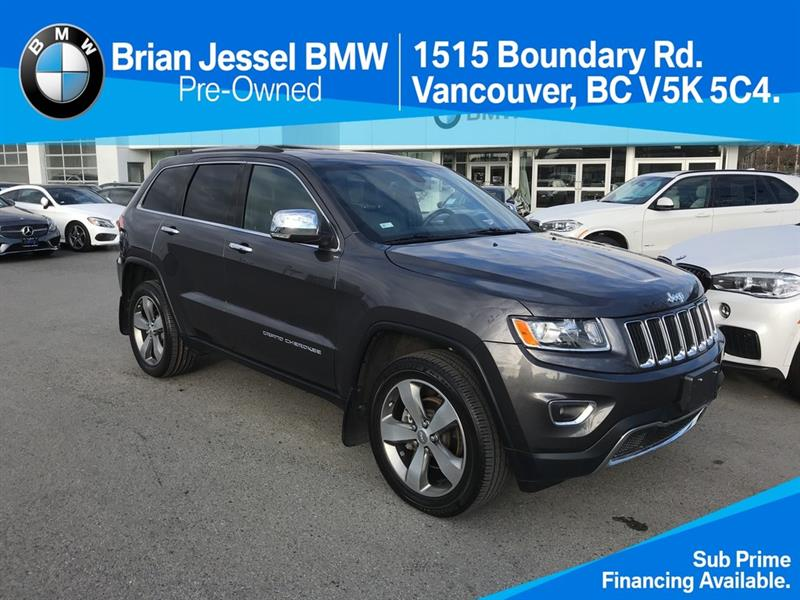 2016 Jeep Grand Cherokee 4x4 Limited #BP7666