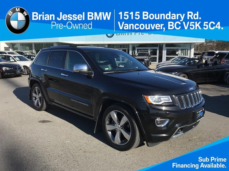2016 Jeep Grand Cherokee 4x4 Overland #BP7858