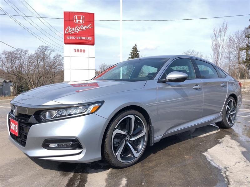 2018 Honda Accord Sedan Sport #22285