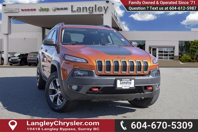 2016 Jeep Cherokee Trailhawk #EE901690
