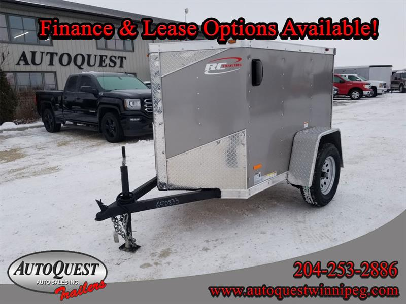 2019 RC Trailers 4' x 6' x 48