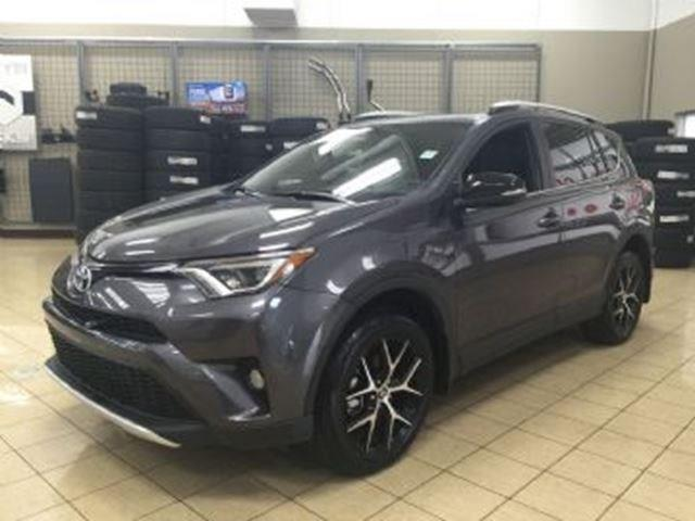 2016 Toyota RAV4 SE LEATHER AWD