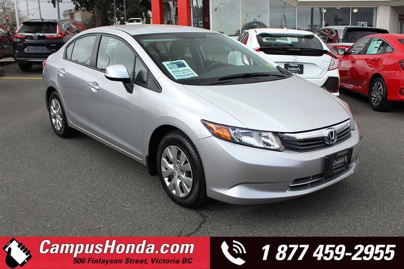 2012 Honda Civic Sdn LX Sedan Auto Bluetooth #19-0249A