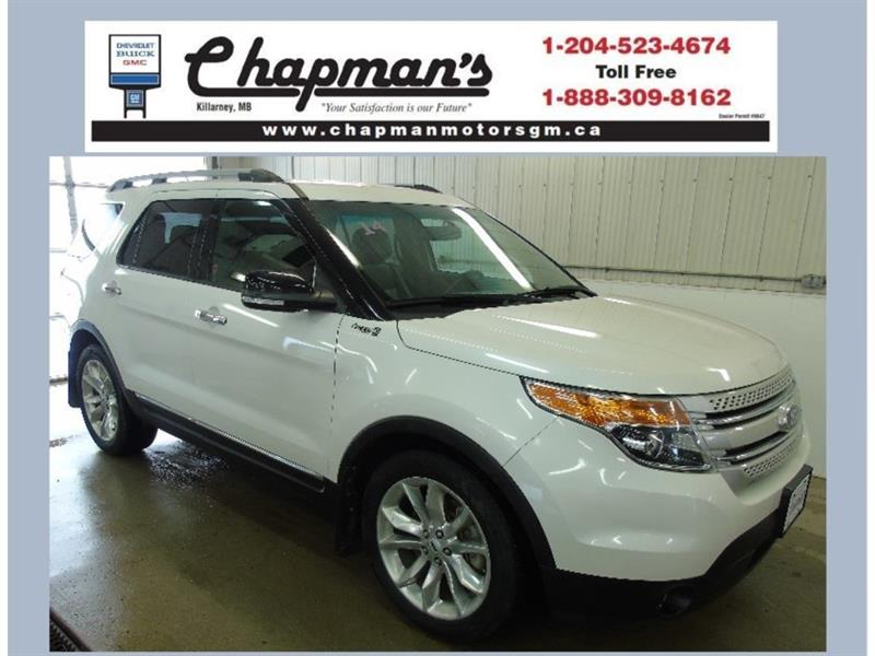 2014 Ford Explorer XLT FWD, 7 Passenger, Leather, Satellite Radio #19-053A