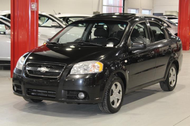 Chevrolet Aveo 2008 LT 4D Sedan #0000001581