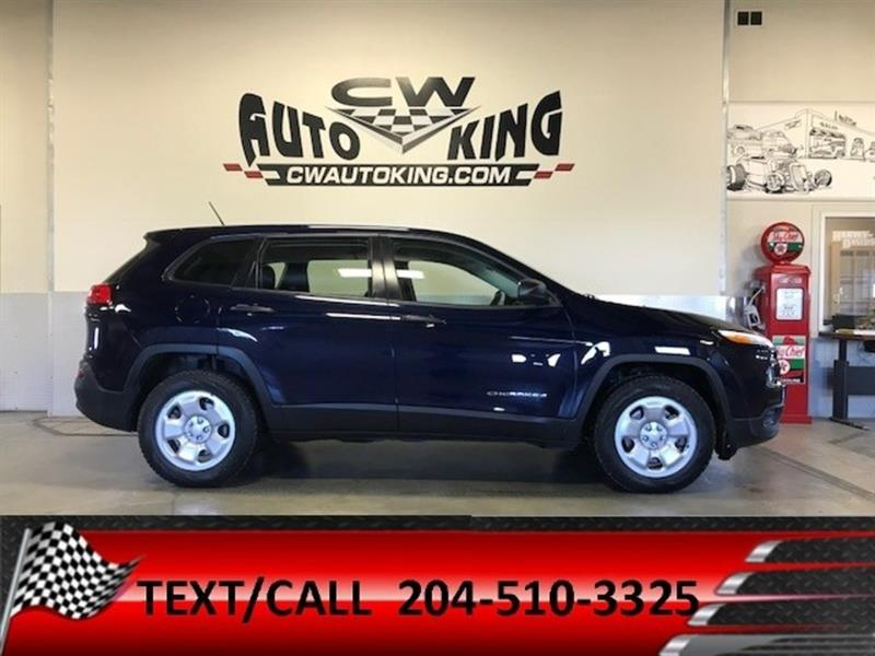2015 Jeep Cherokee Sport / 4x4 / Bluetooth / Financing Available #20042381