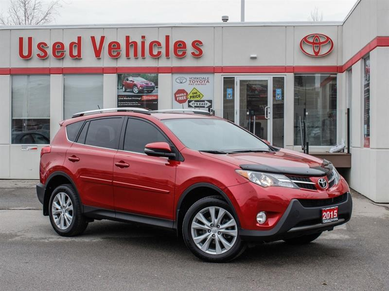 2015 Toyota RAV4 Limited   Navi   Sunroof   Leather   H.Seats #9009162A