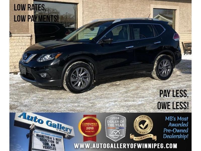 2016 Nissan Rogue SL *AWD/Bluetooth/Htd Lthr/Navi #23259