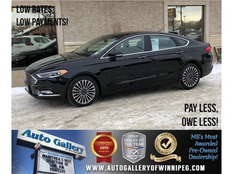 2017 Ford Fusion SE *AWD/Navi/Lthr/Roof/Backup Cam #23441