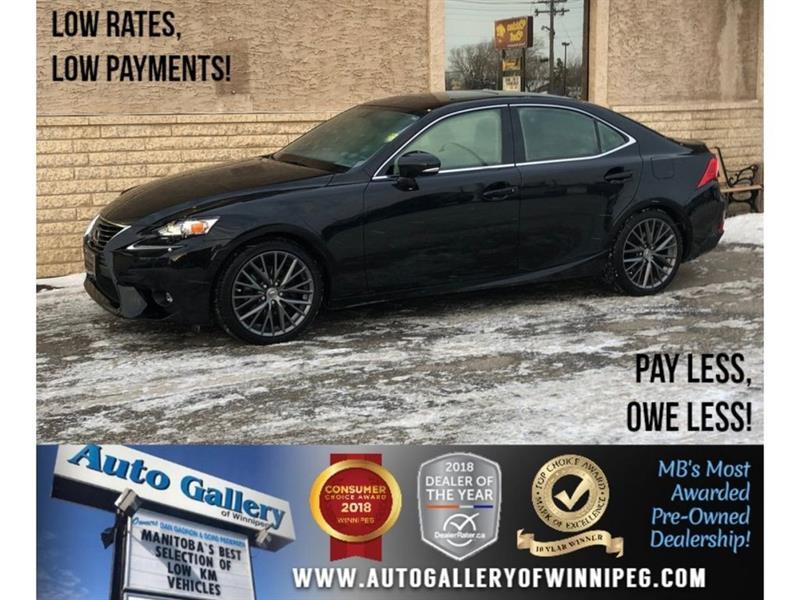 2015 Lexus IS 250 *AWD/Htd Lthr/Roof/Backup Cam #23548