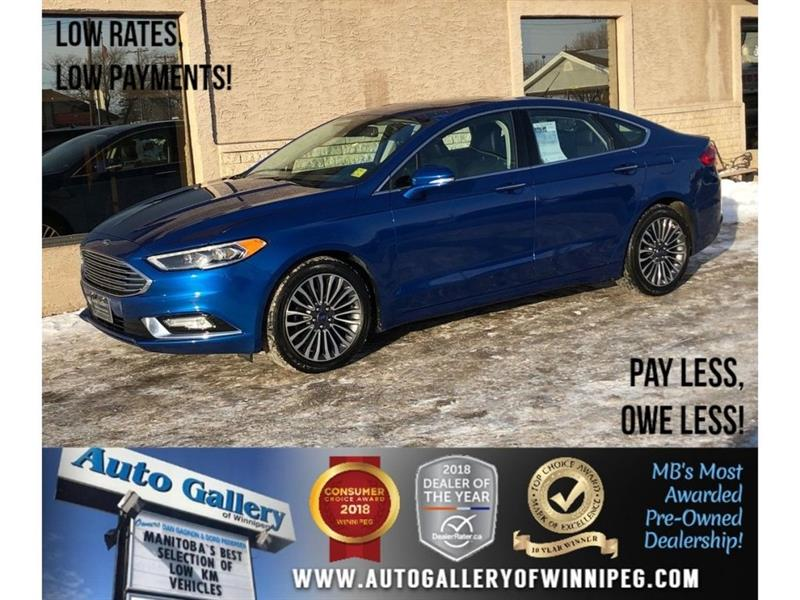 2017 Ford Fusion SE *Leather/Sunroof/Navigation #23565