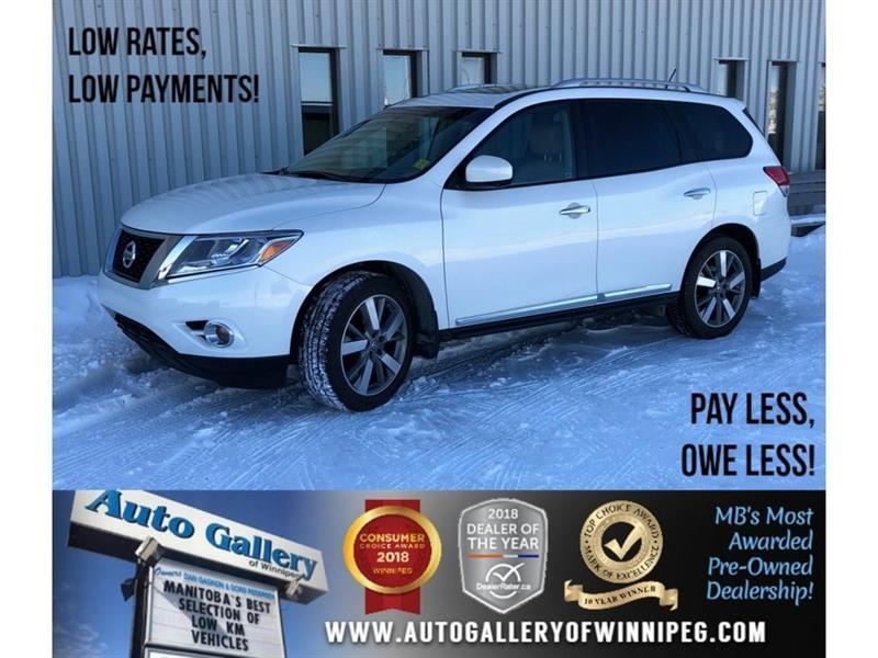2014 Nissan Pathfinder Platinum *AWD/Htd Lthr/Navi/DVD/Roof #23571