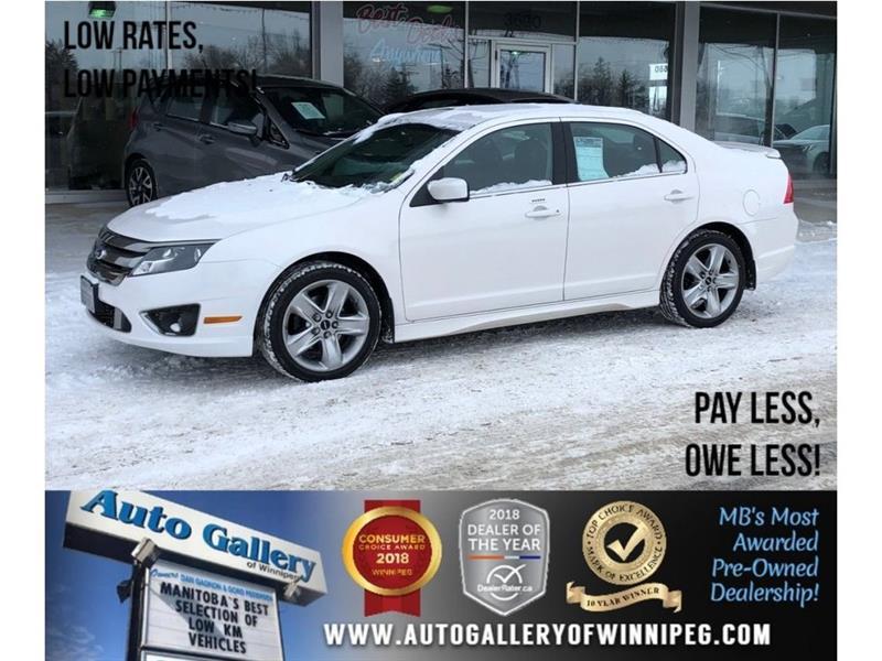 2011 Ford Fusion Sport *AWD/Lthr/Sunroof/V6 #23641