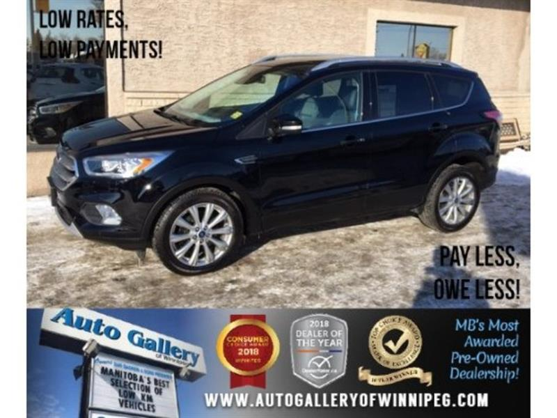 2017 Ford Escape Titanium *AWD/Htd Lthr/Pano Roof/Navi #23648