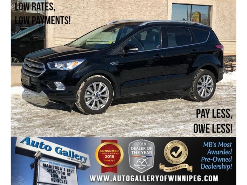 2017 Ford Escape Titanium *AWD/Htd Lthr/Pano Roof/Navi #23649