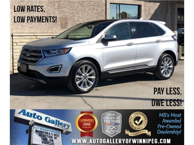 2017 Ford EDGE Titanium *AWD/Bluetooth/Htd Lthr/Navi/V6 #23783