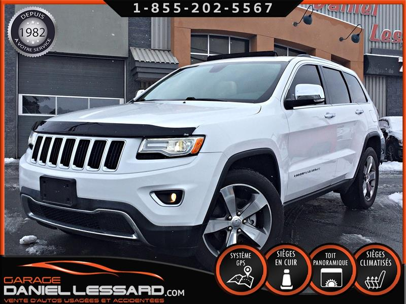 Jeep Grand Cherokee 2015 ENSEMBLE DE LUXE, 4X4 LIMITED, CUIR, TOIT, +++ #58593