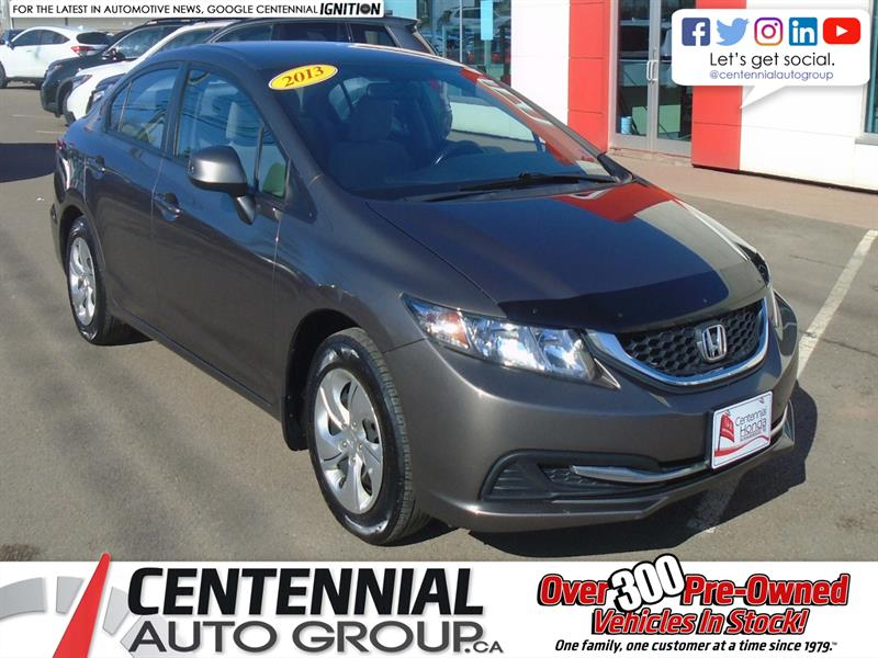 2013 Honda Civic Sdn LX | Heated Seats |  #9751B