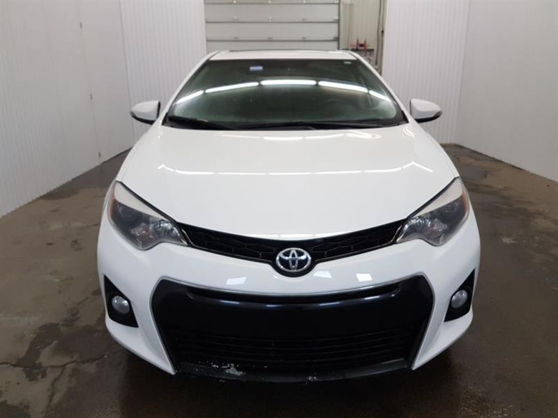 Toyota Corolla 2015 S Toit Ouvrant Mags Cuir/Tissus Bluetooth #BSP-*15COR1514
