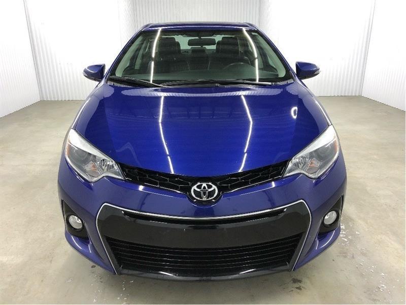 Toyota Corolla 2014 S Toit Ouvrant Cuir/Tissus MAGS *Bas Kilométrage* #14COR1662
