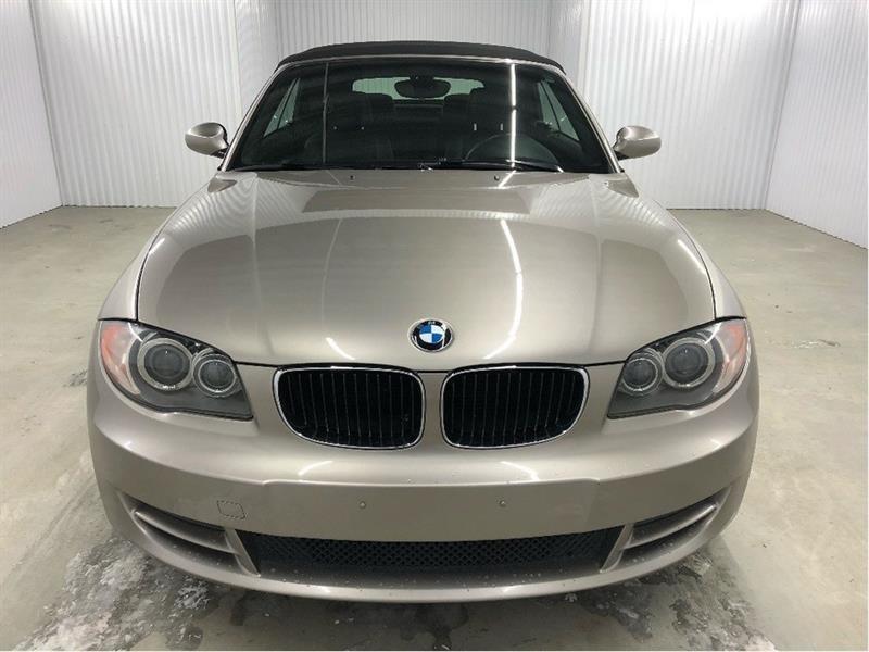 BMW 1 Series 2008 128i Convertible Cuir MAGS *Bas Kilométrage* #08BMW2024