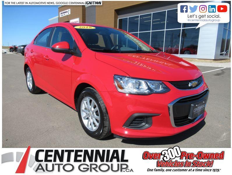 2018 Chevrolet Sonic Auto | LT | Heated Seats | Back Up Camera #U725