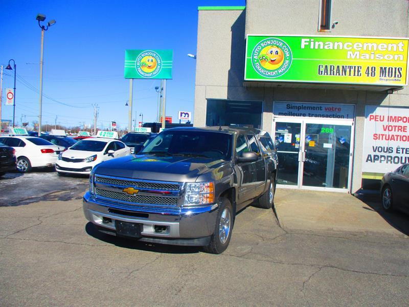 Chevrolet Silverado 1500 2013 4WD Crew Cab 143.5 Hybrid #18-290