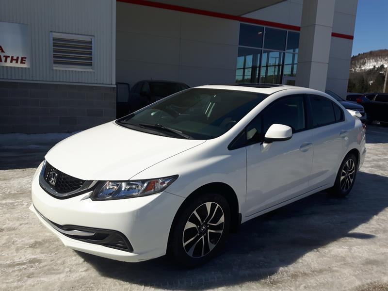 Honda Civic 2013 Man EX *Toit ouvrant, Mags, Bluetooth... #P9408
