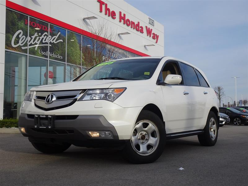 2008 Acura MDX Sport Package - SUNROOF, LEATHER, BLUETOOTH, NAVI, #P5345