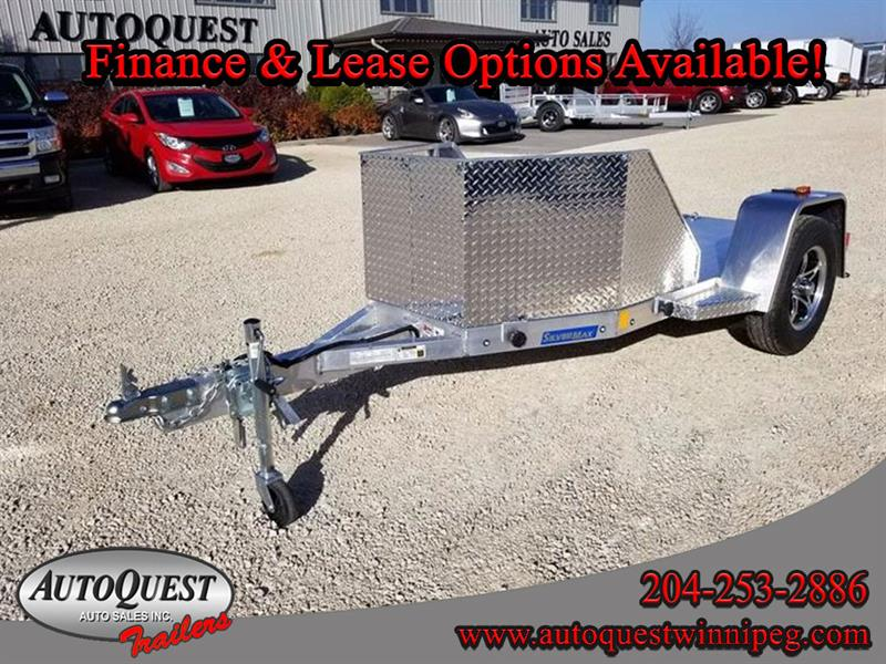 2018 RC Trailers 4.5' x 10' OB1 Aluminum Bike Trailer