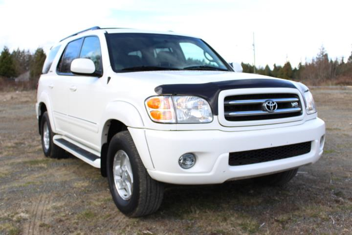 2002 Toyota Sequoia 4dr Limited V8 4WD #12189C (KEY 69)