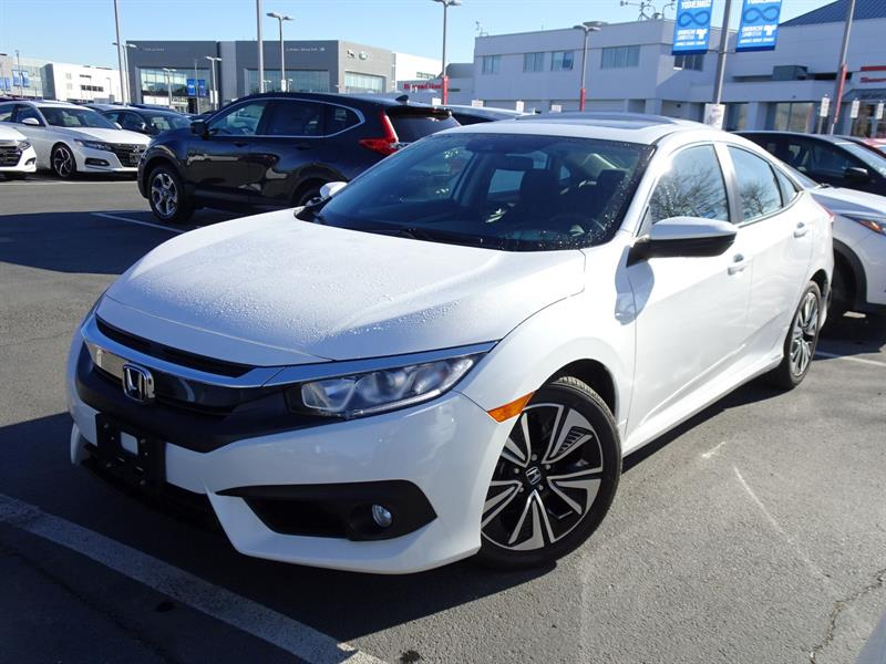 2016 Honda Civic Sedan EX-T CVT HS! Honda Certified Extended Warran #LH8625