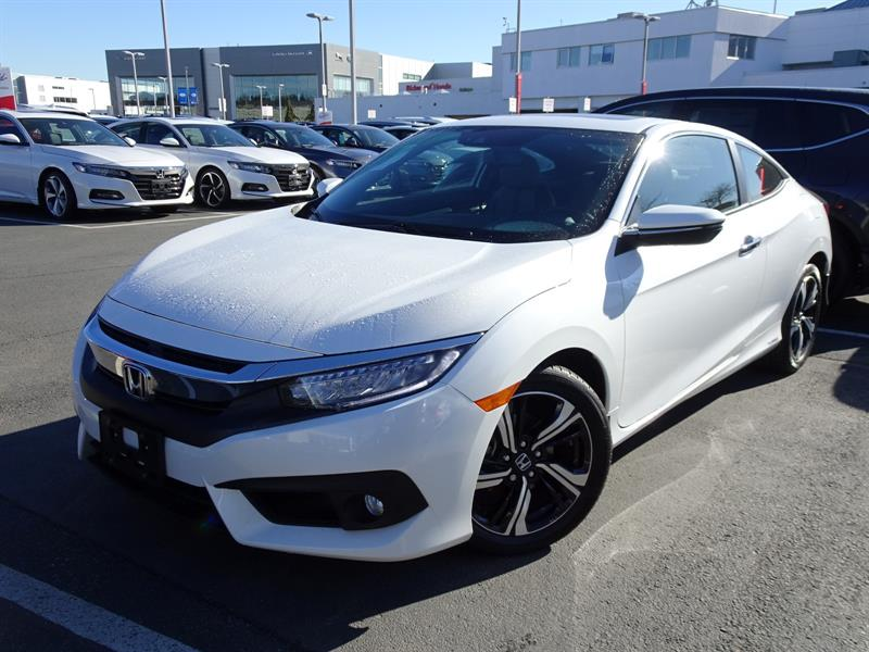 2017 Honda Civic Coupe Touring CVT! Honda Certified Extended Warran #LH8629