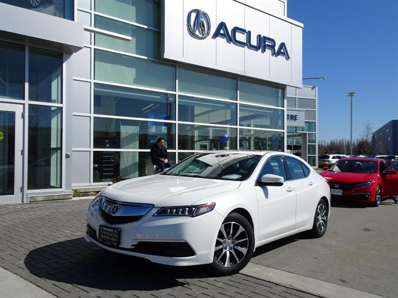 2015 Acura TLX Tech|Acura Certified|Local Car|One Owner|Warranty  #957419A