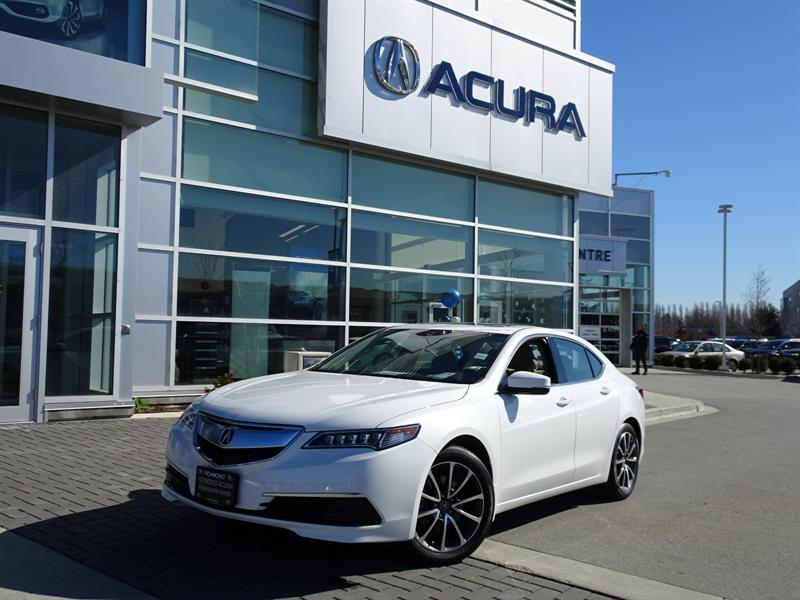 2016 Acura TLX Tech|Acura Certified|Local Car|One Owner|Warranty  #P6161