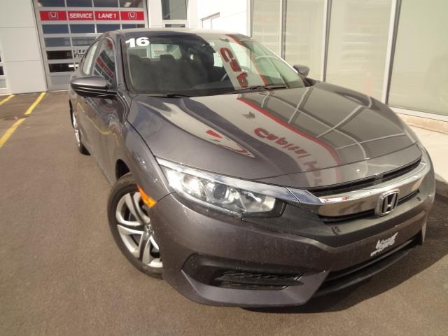 2016 Honda Civic Sedan 4dr CVT LX #J478A