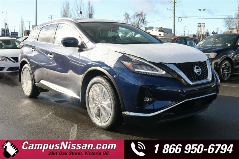 2019 Nissan Murano Platinum AWD w/ Leather & Moonroof #9-Q314