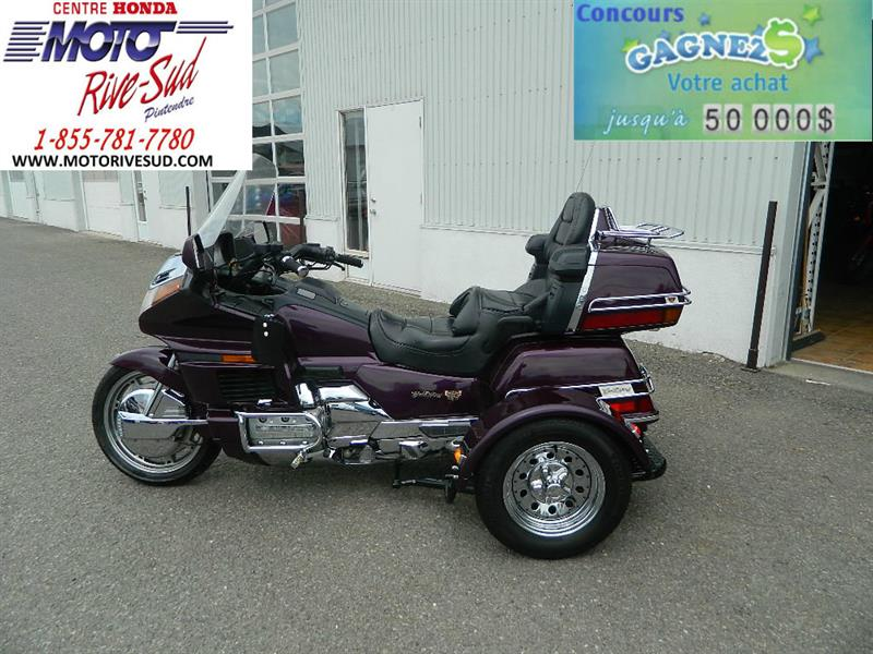 Honda Trike GL 1500 GOLDWING 1996 TRIKE 4 ROUES #M2691