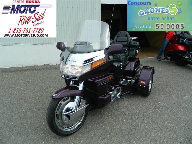 honda trike gl 1500 goldwing trike 4 roues 1996 occasion vendre pintendre chez moto rive sud. Black Bedroom Furniture Sets. Home Design Ideas