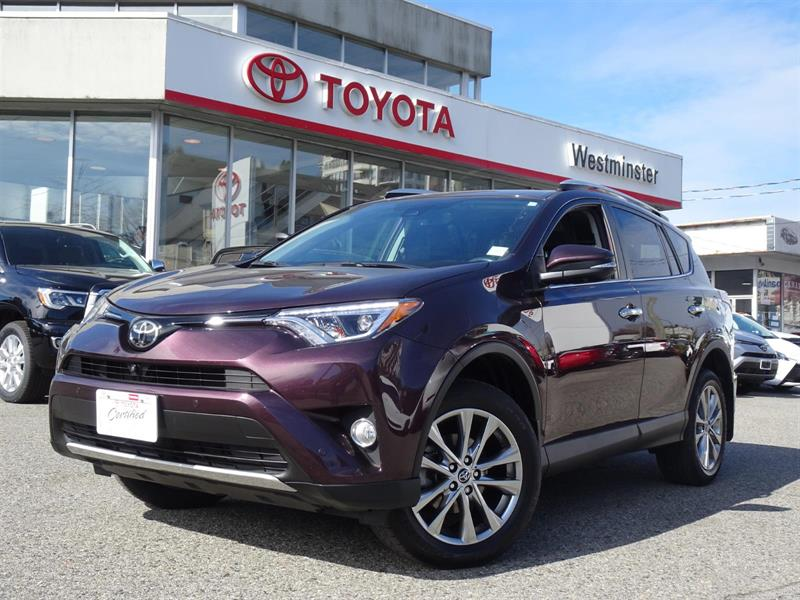 2016 Toyota RAV4 Limited #RV19413A