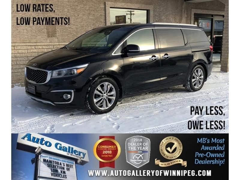 2016 Kia Sedona SXL *Htd Lthr/Backup Cam/Bluetooth/Roof #23248