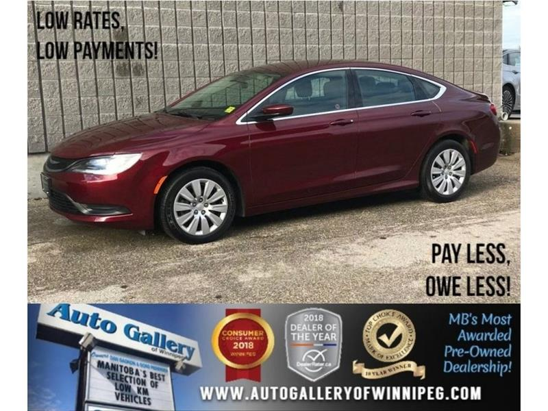 2016 Chrysler 200 LX *9 Speed Auto, Auxiliary Capability #23662