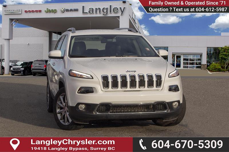 2018 Jeep Cherokee Limited #EE899990