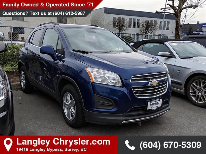 2016 Chevrolet Trax LT #EE900520A