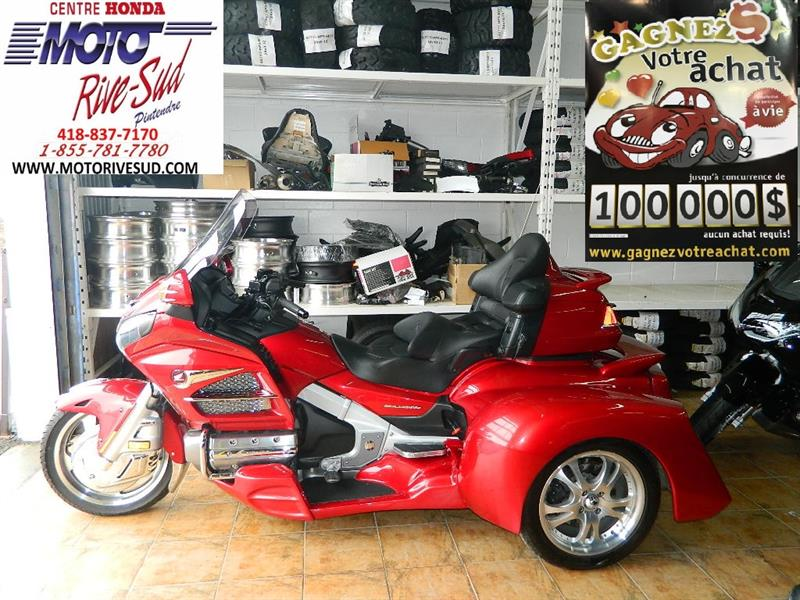 Honda GL1800 GOLDWING 2016 TRIKE #M2921-1