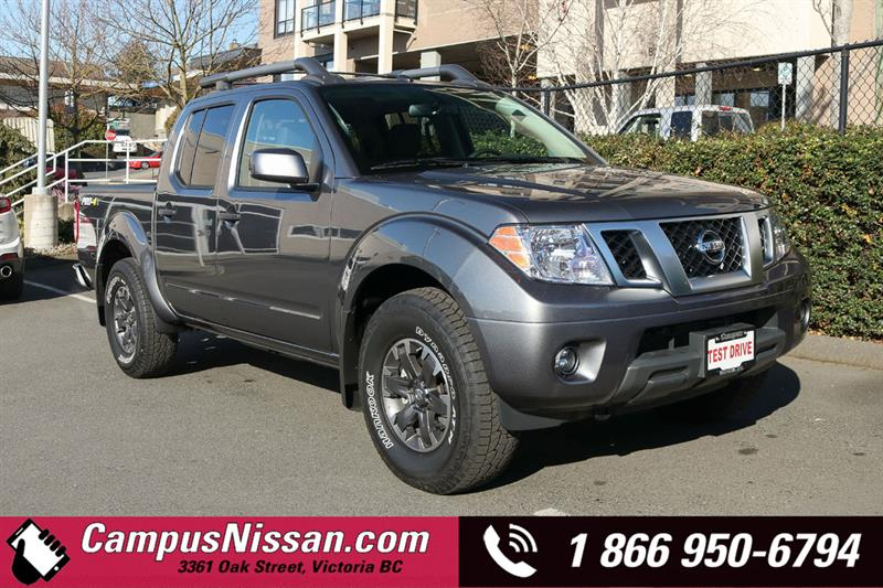 2019 Nissan Frontier PRO-4X 4WD Crew Cab #9-T003