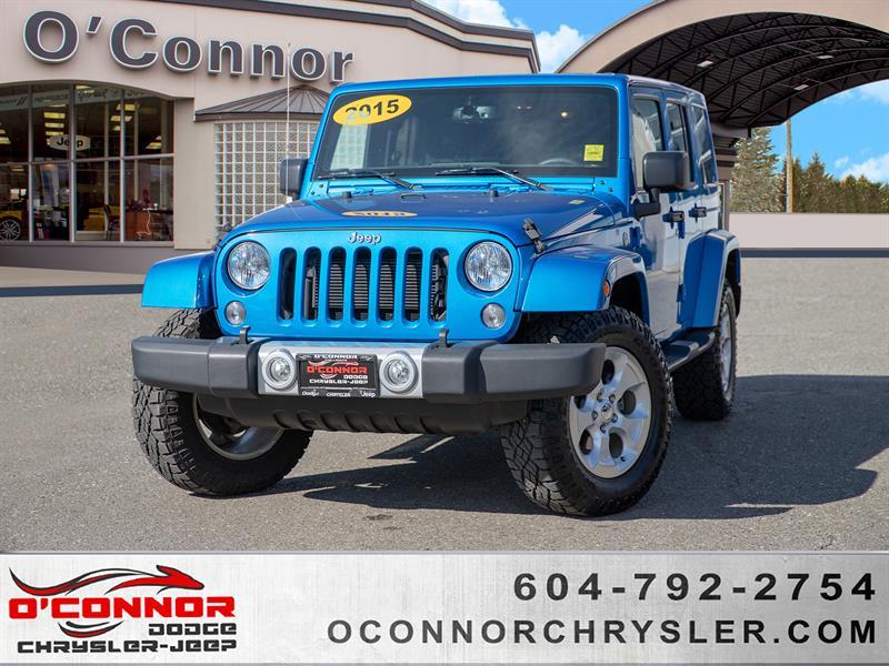 2015 Jeep Wrangler Unlimited Sahara #16594A