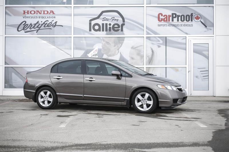 Honda Civic 2009 SPORT ***VEHICULE BIEN ENTRETENU*** #190356B